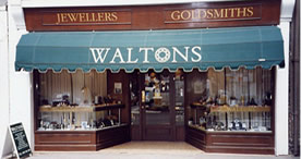 View of Waltons Shopfront